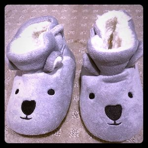 Never worn baby slippers